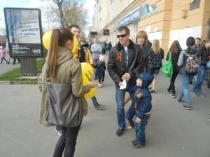 Раздача листовок Петрозаводск