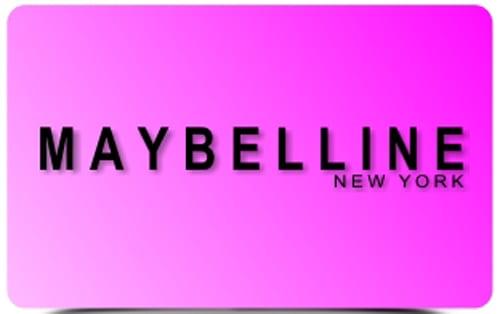 Maybelline логотип